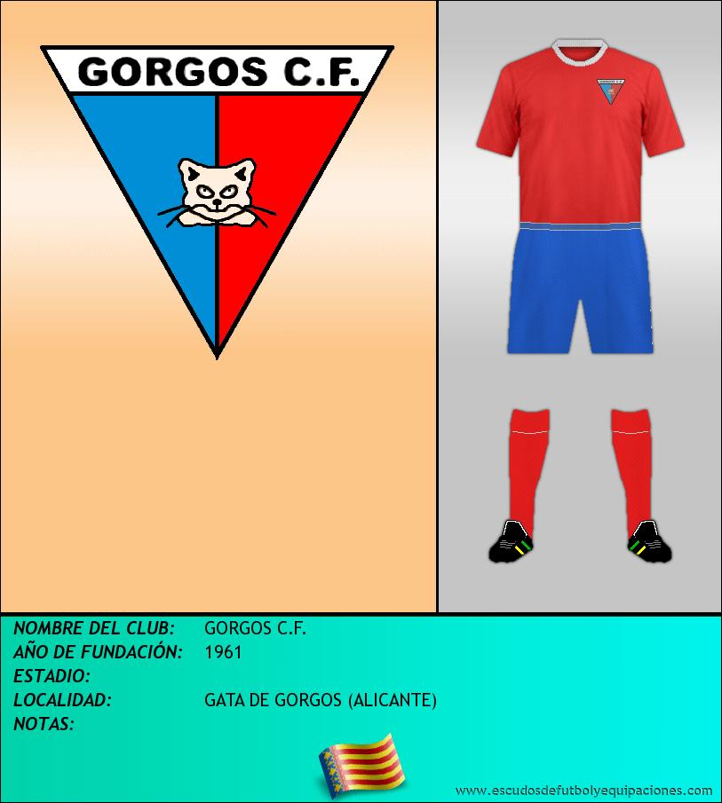 Escudo de GORGOS C.F.