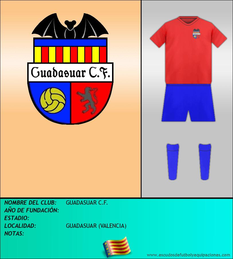 Escudo de GUADASUAR C.F.
