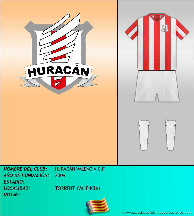 Escudo de HURACÁN VALENCIA C.F.