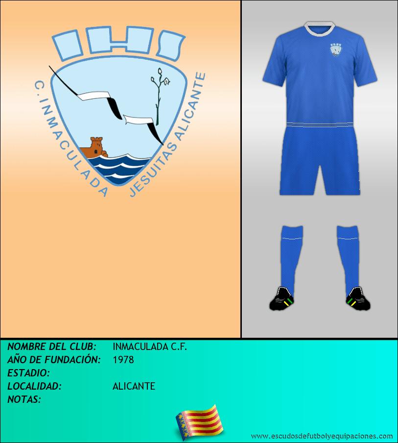 Escudo de INMACULADA C.F.