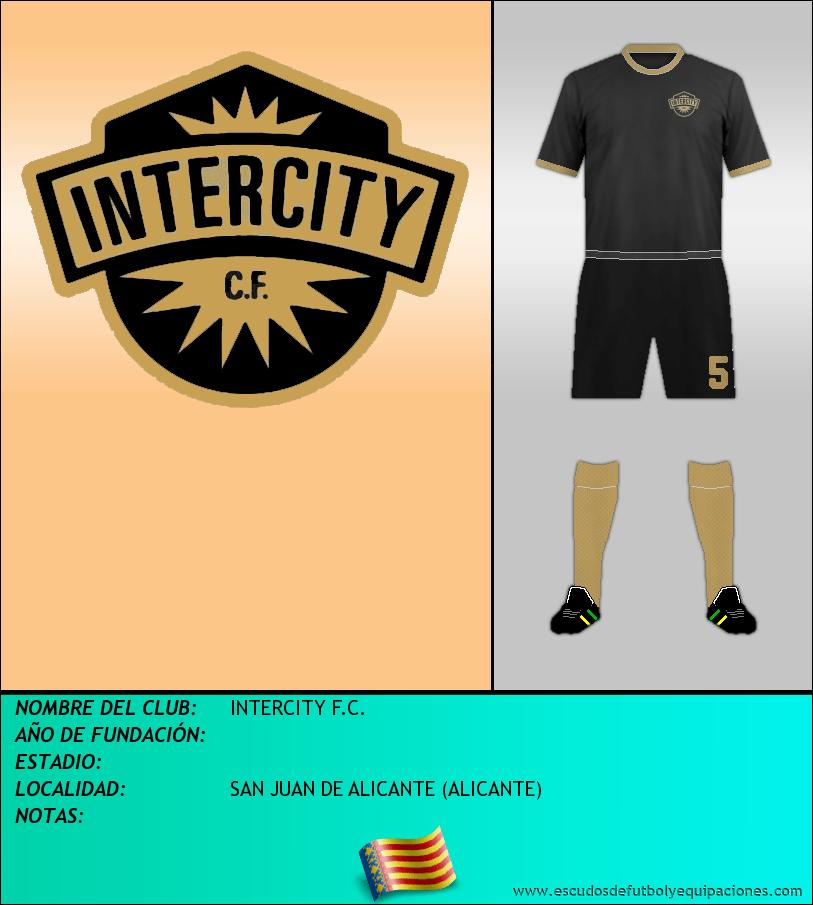 Escudo de INTERCITY F.C.