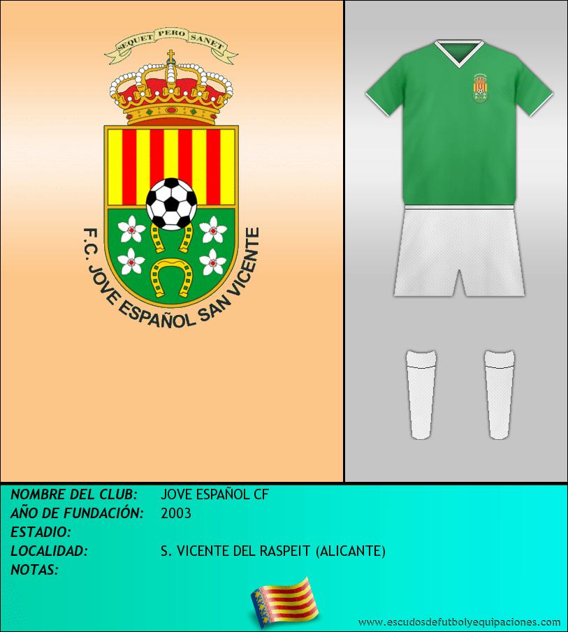 Escudo de JOVE ESPAÑOL CF