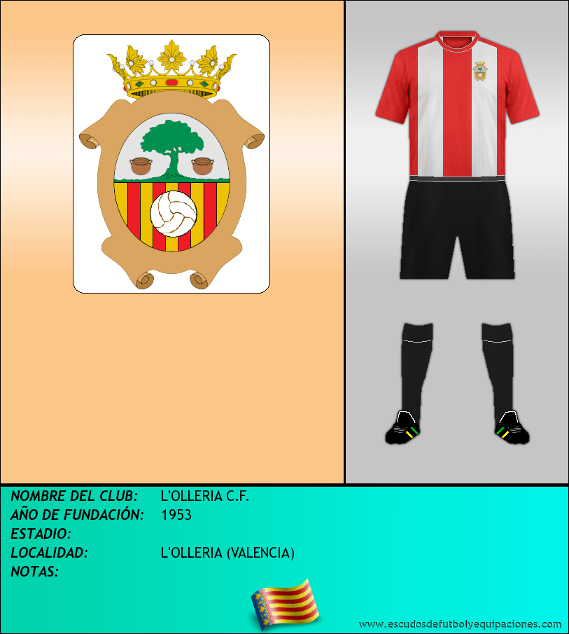 Escudo de L'OLLERIA C.F.