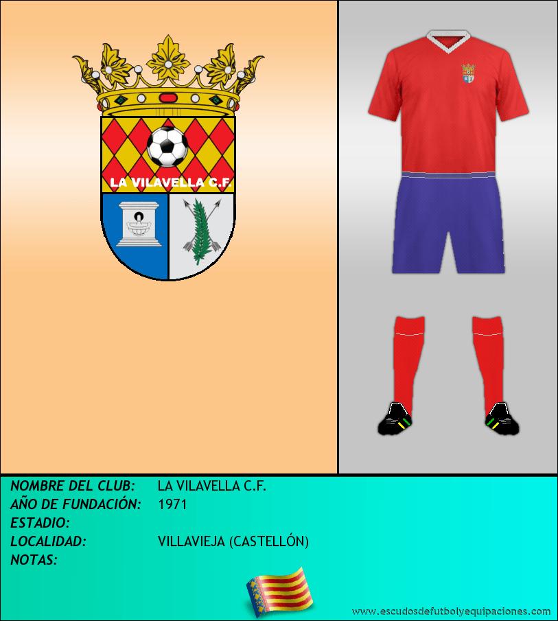 Escudo de LA VILAVELLA C.F.