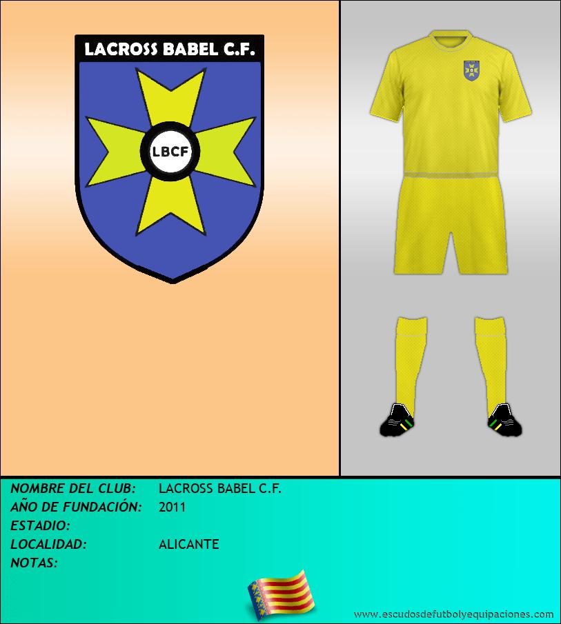 Escudo de LACROSS BABEL C.F.