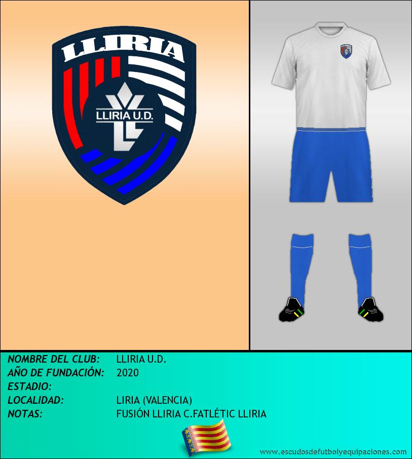 Escudo de LLIRIA U.D.