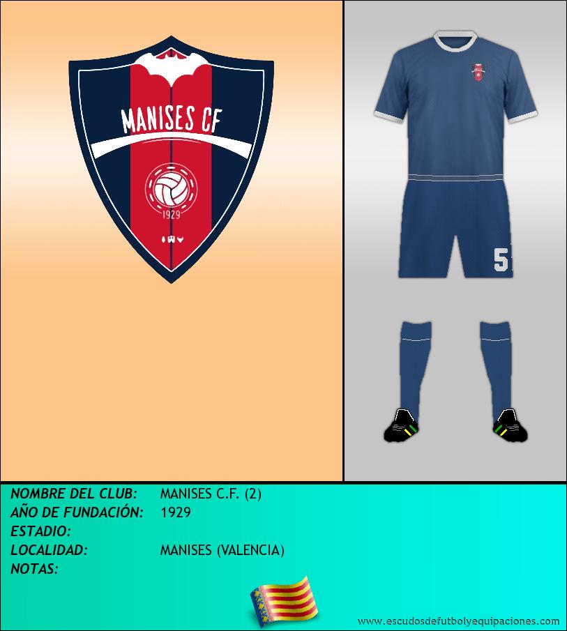 Escudo de MANISES C.F. (2)