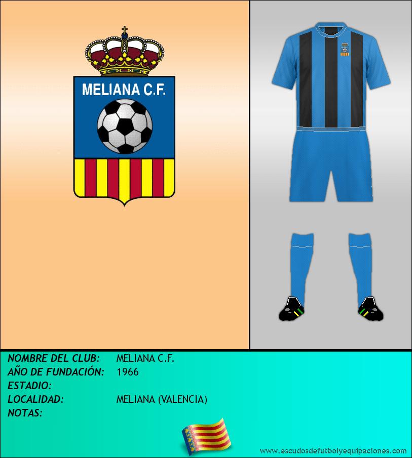 Escudo de MELIANA C.F.