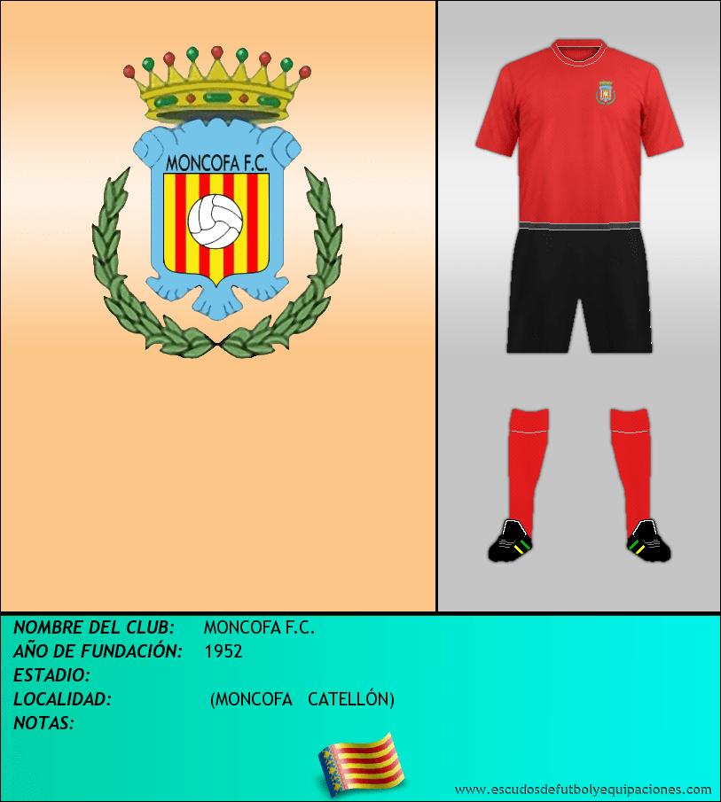 Escudo de MONCOFA F.C.