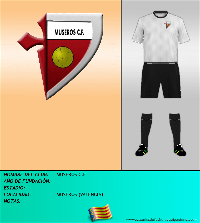 Escudo de MUSEROS C.F.