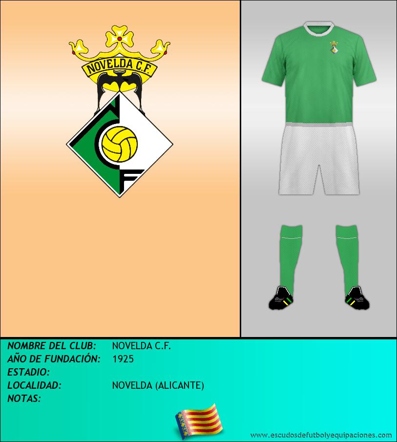 Escudo de NOVELDA C.F.