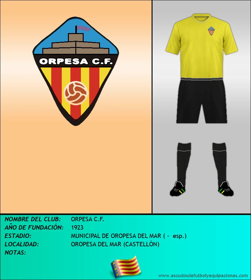 Escudo de ORPESA C.F.