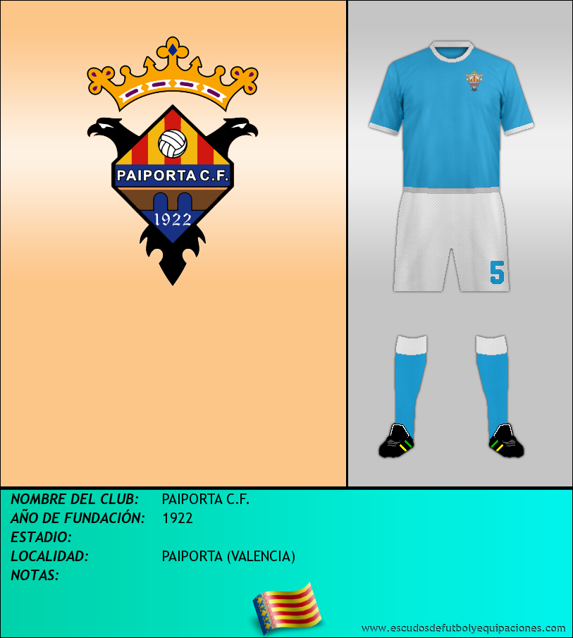 Escudo de PAIPORTA C.F.