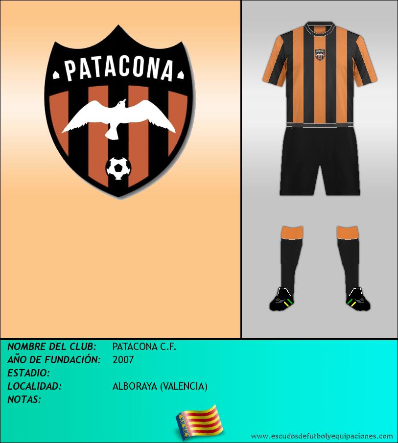 Escudo de PATACONA C.F.