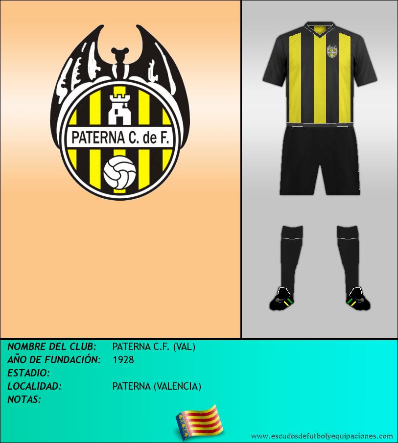 Escudo de PATERNA C.F. (VAL)
