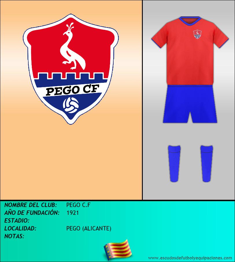 Escudo de PEGO C.F