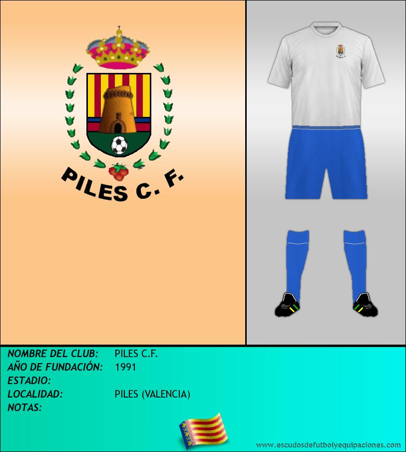 Escudo de PILES C.F.