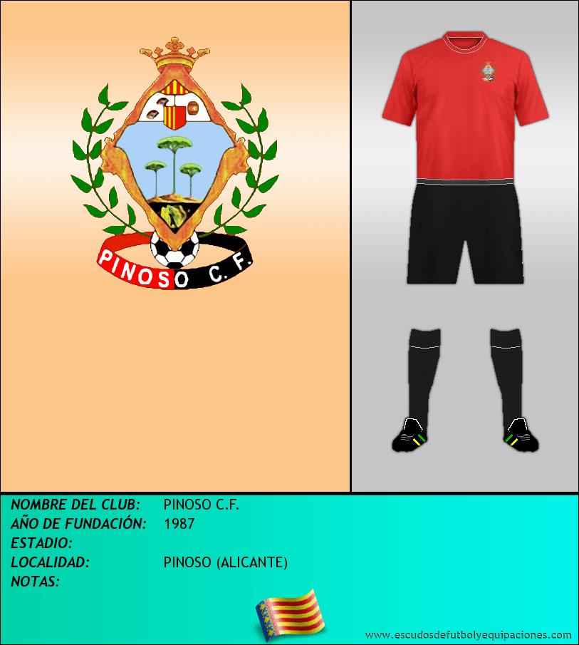 Escudo de PINOSO C.F.