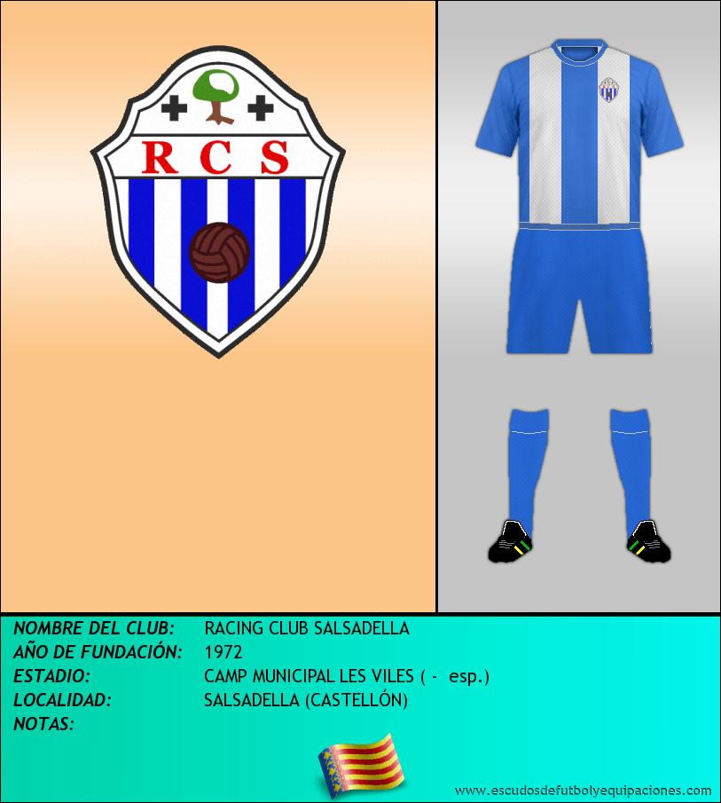 Escudo de RACING CLUB SALSADELLA