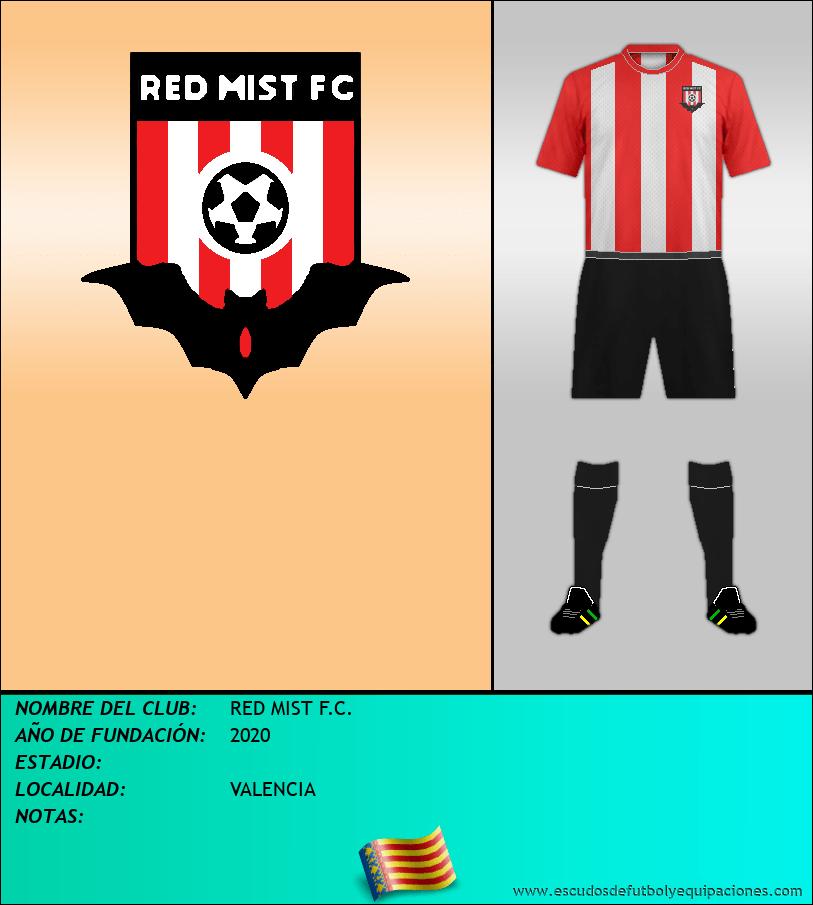 Escudo de RED MIST F.C.