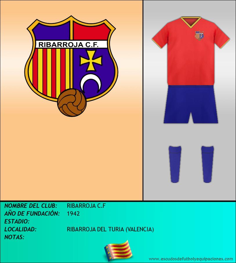 Escudo de RIBARROJA C.F