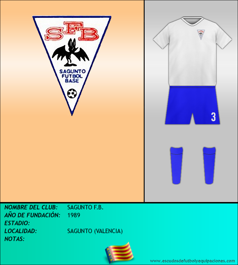Escudo de SAGUNTO F.B.