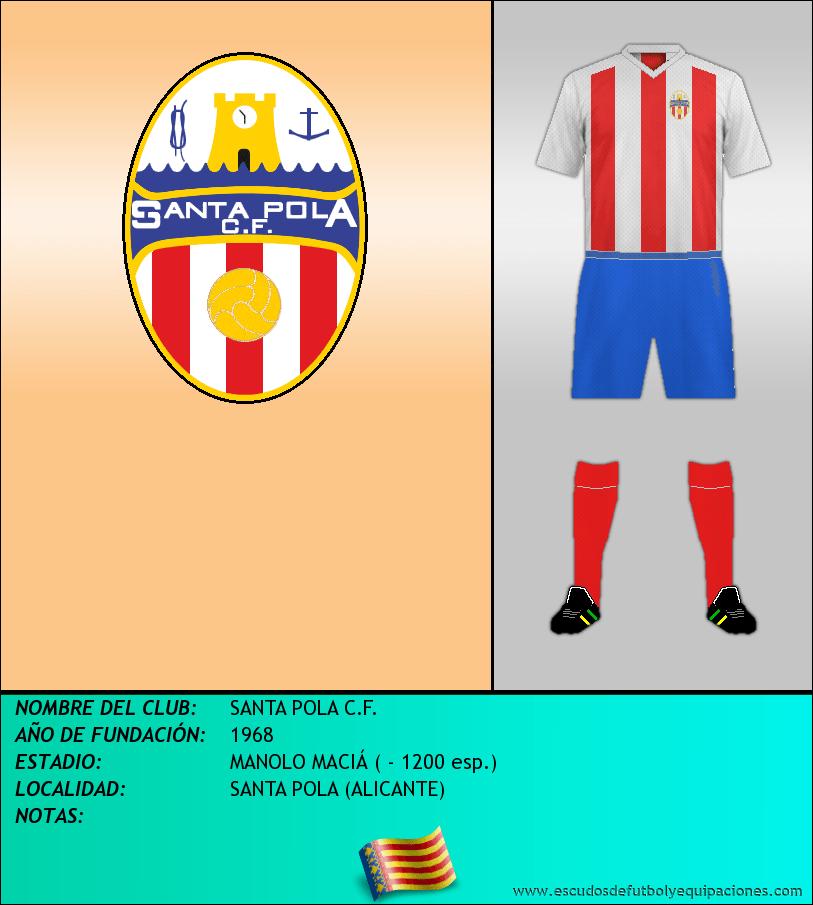 Escudo de SANTA POLA C.F.