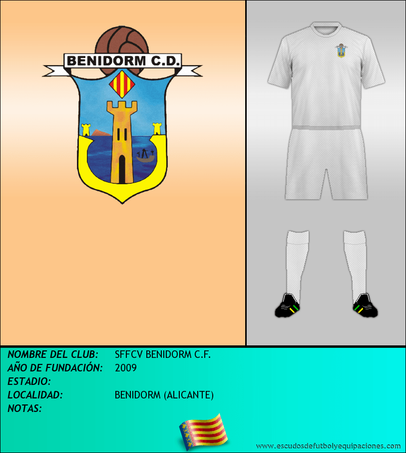 Escudo de SFFCV BENIDORM C.F.