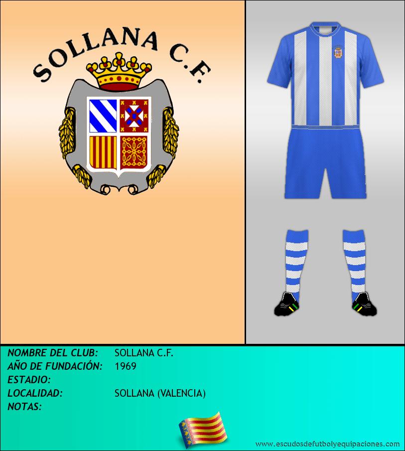 Escudo de SOLLANA C.F.