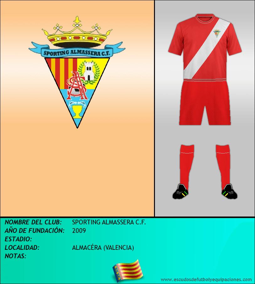 Escudo de SPORTING ALMASSERA C.F.