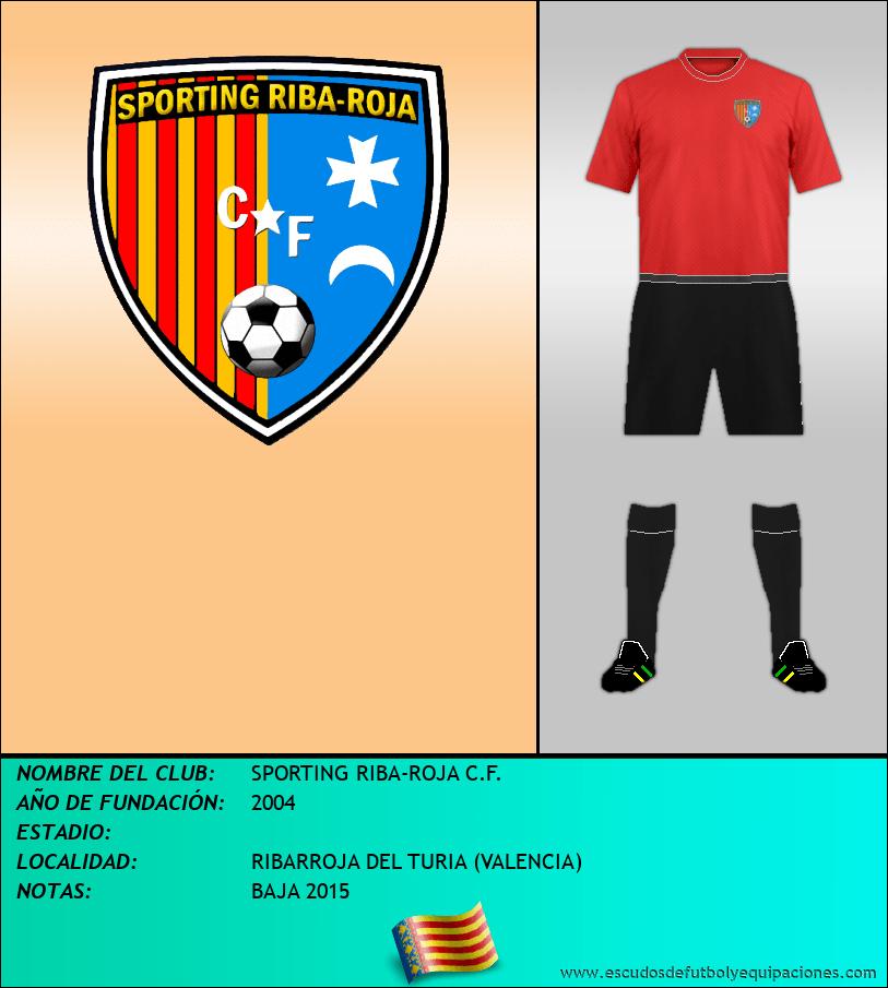 Escudo de SPORTING RIBA-ROJA C.F.