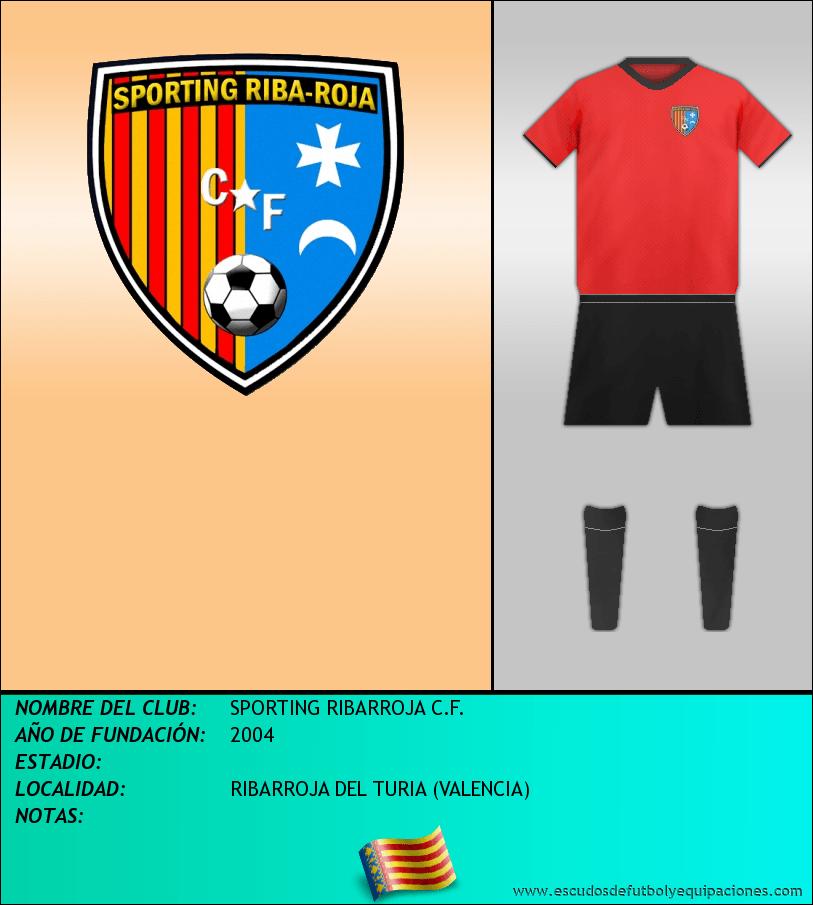 Escudo de SPORTING RIBARROJA C.F.