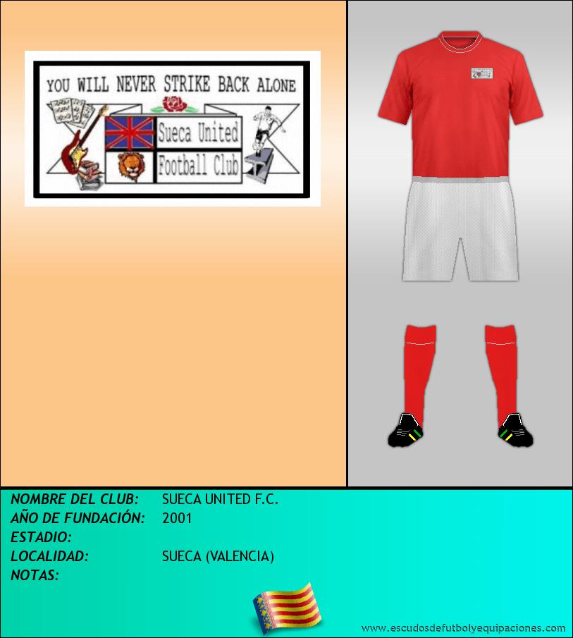Escudo de SUECA UNITED F.C.