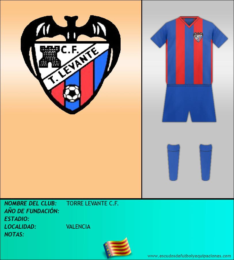 Escudo de TORRE LEVANTE C.F.