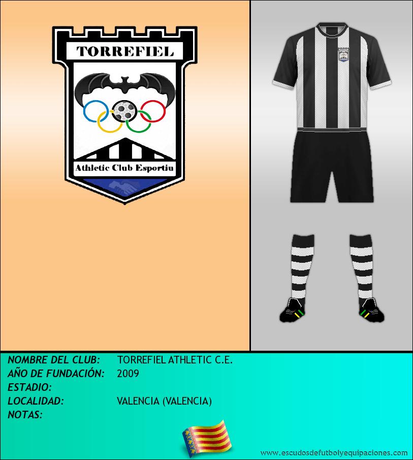 Escudo de TORREFIEL ATHLETIC C.E.