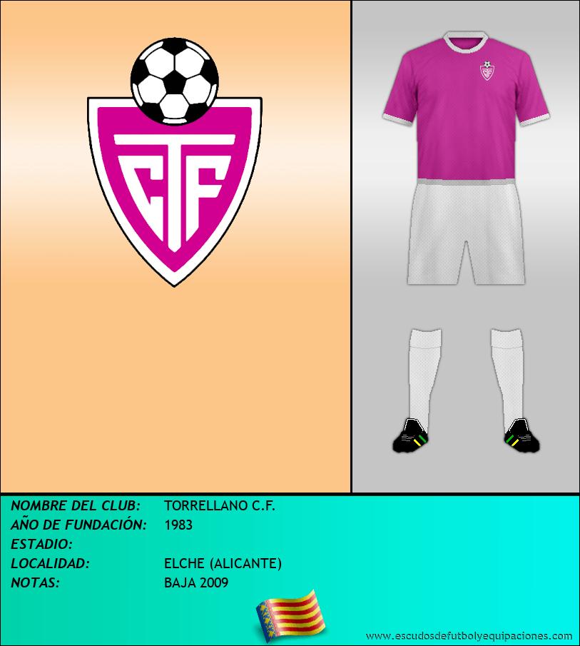 Escudo de TORRELLANO C.F.