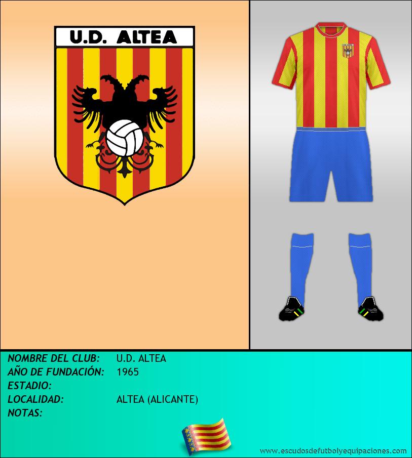 Escudo de U.D. ALTEA