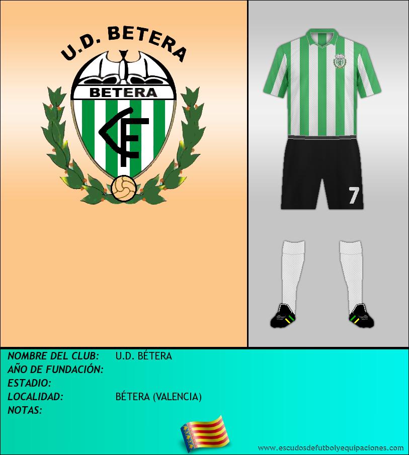 Escudo de U.D. BÉTERA