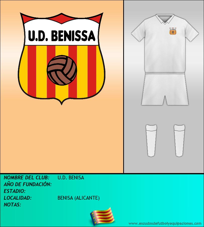 Escudo de U.D. BENISA
