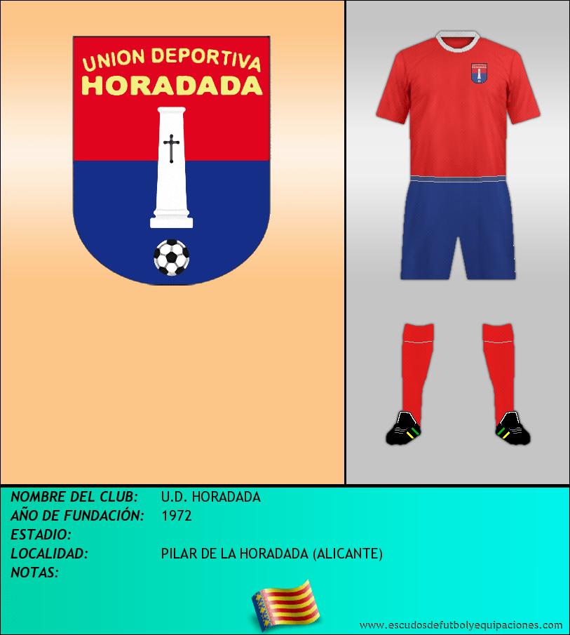 Escudo de U.D. HORADADA