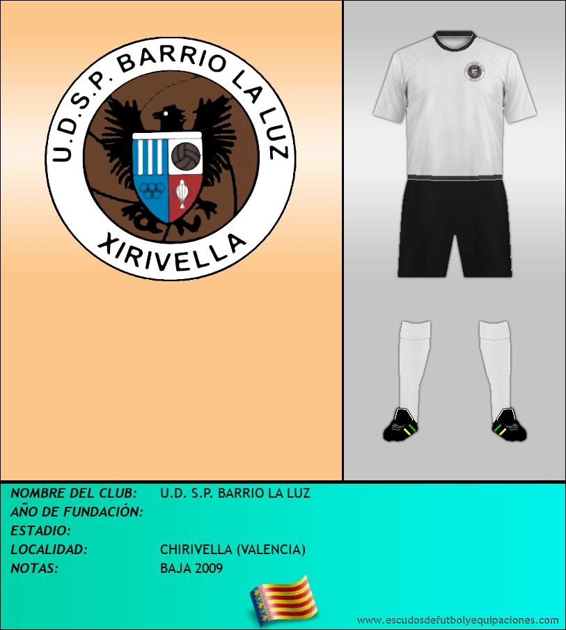 Escudo de U.D. S.P. BARRIO LA LUZ