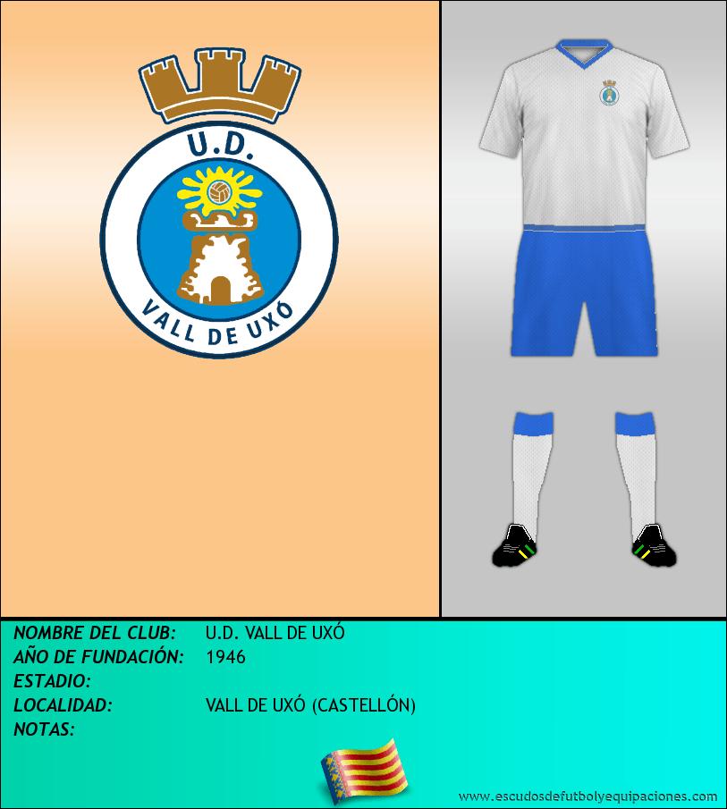 Escudo de U.D. VALL DE UXÓ