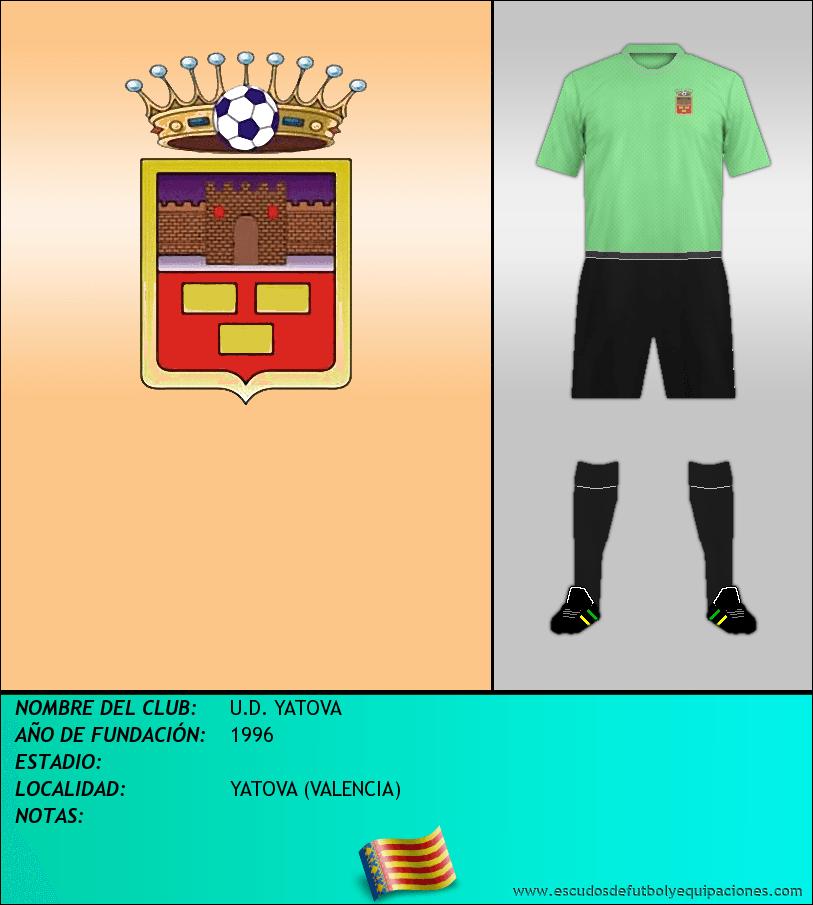 Escudo de U.D. YATOVA