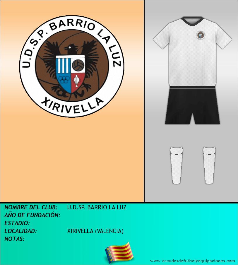Escudo de U.D.SP. BARRIO LA LUZ