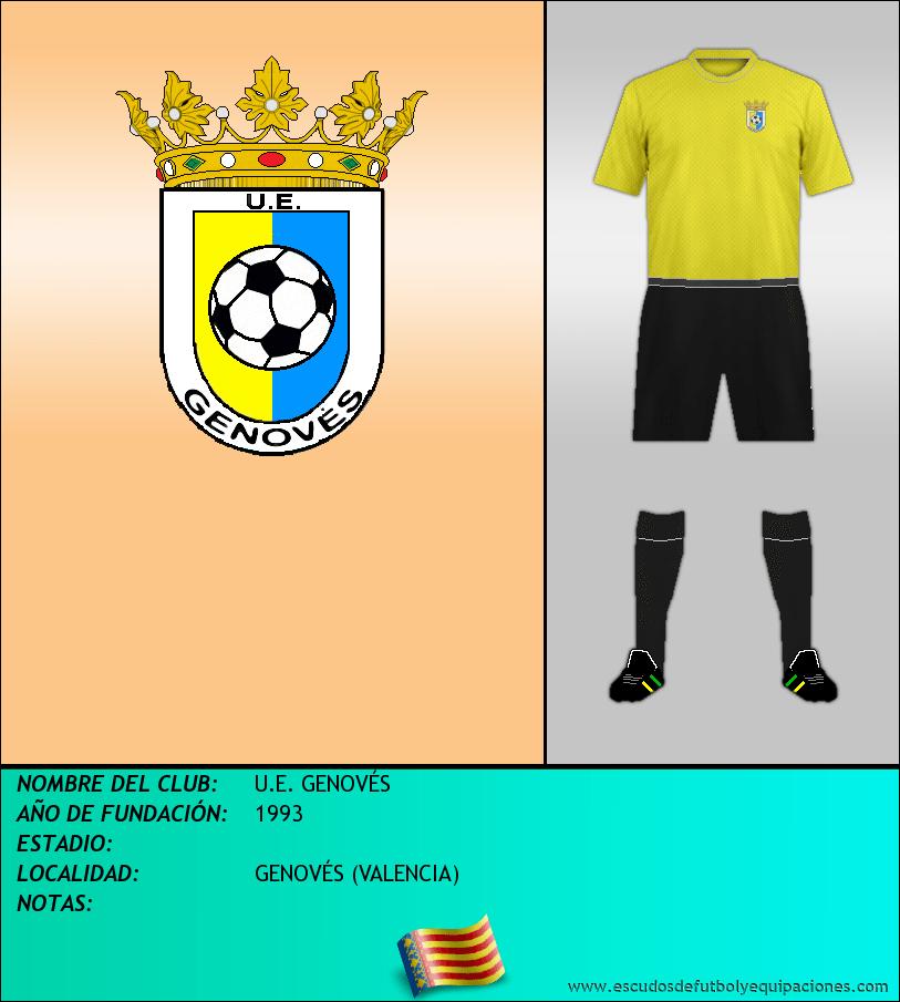 Escudo de U.E. GENOVÉS