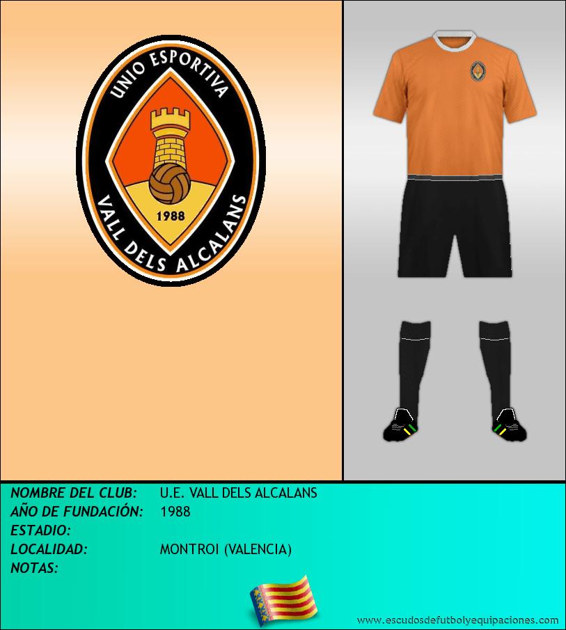 Escudo de U.E. VALL DELS ALCALANS