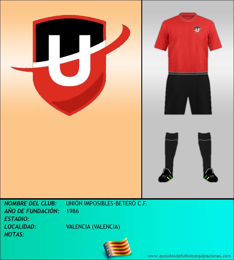 Escudo de UNIÓN IMPOSIBLES-BETERÓ C.F.