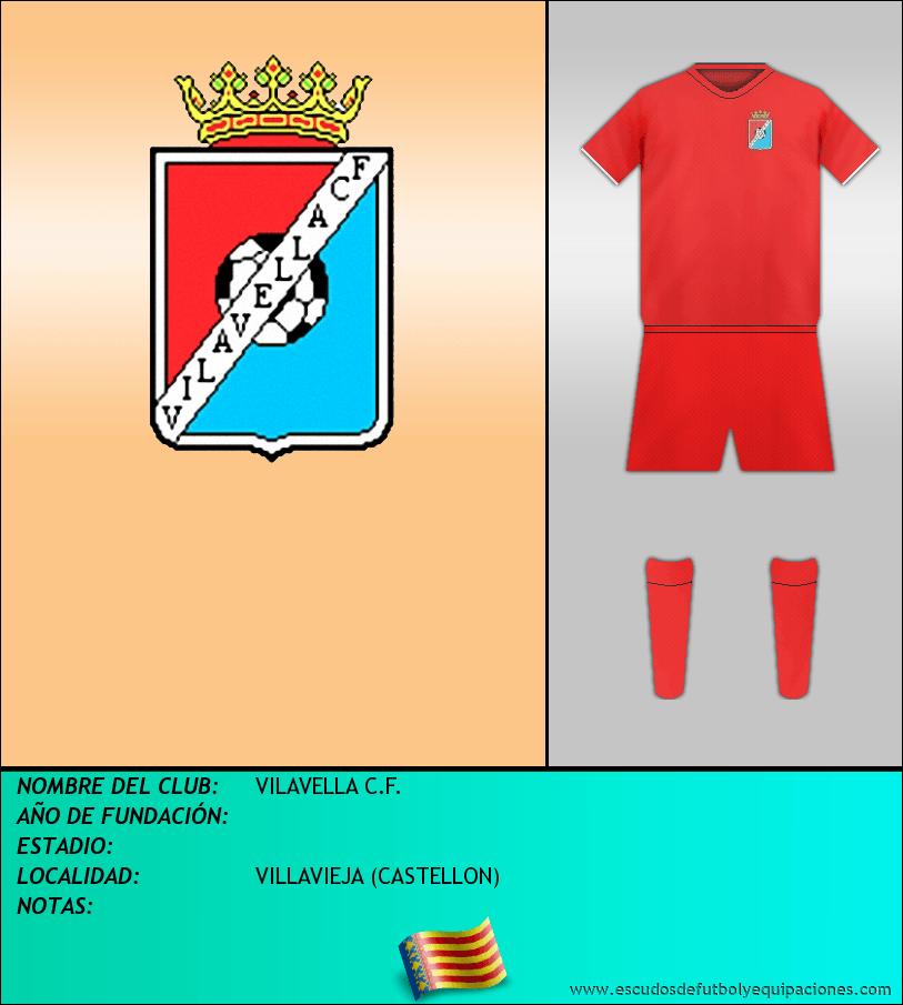 Escudo de VILAVELLA C.F.