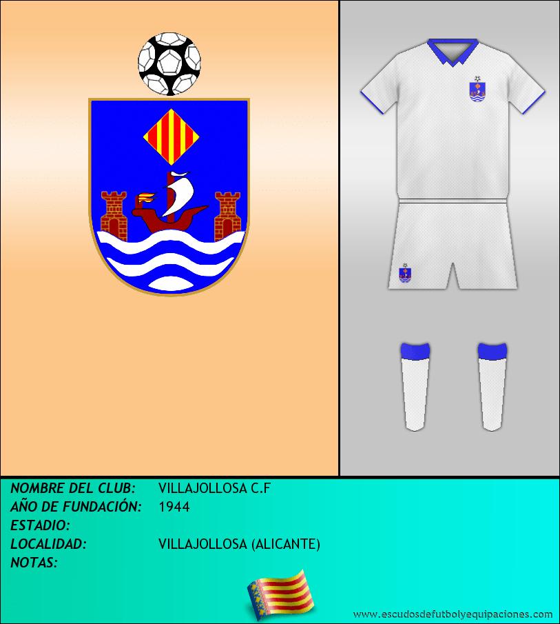 Escudo de VILLAJOLLOSA C.F