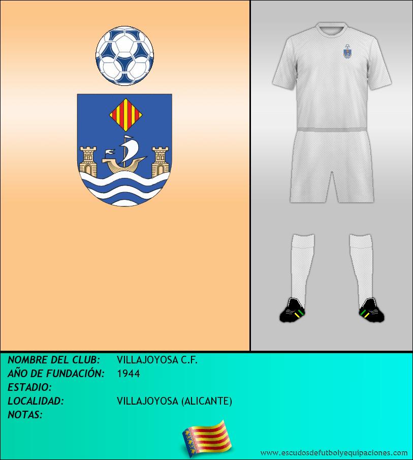 Escudo de VILLAJOYOSA C.F.
